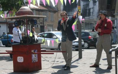 Radio Onde Tout'Ouïes à la Belle Fête de Mai Marseille Mai 2015